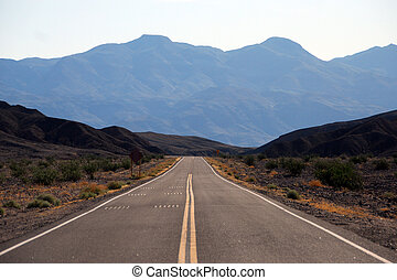 Death Valley Highway 2 - Death Valley National Park