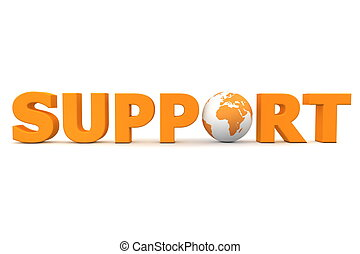 Support World Orange