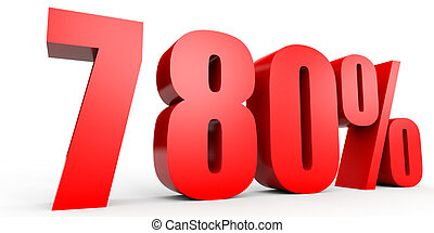Discount 780 percent off 3D illustration - Discount 780...
