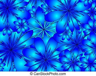 raster. floral background
