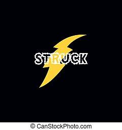 flash thunder bolt logo
