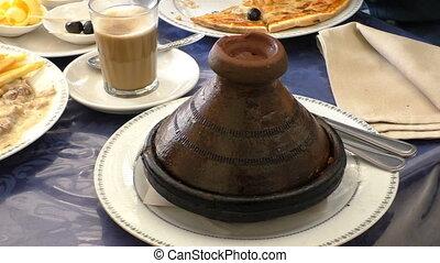 Morocco tagine tajine dish