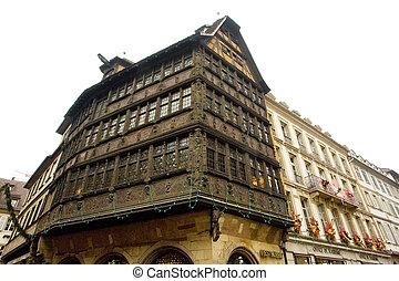 Strasbourg - Cathedral Square, Strasbourg, Alsace, France