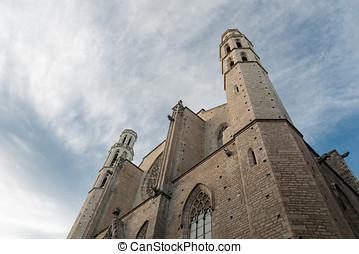 Church Santa Maria del Mar - Church of Santa Maria del Mar...