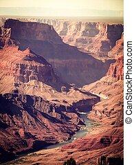 At Grand Canyon national park, USA