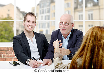 father buy an apartment for his son - a father buy an...