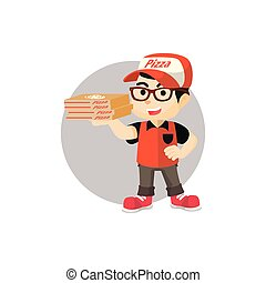 Pizza delivery service
