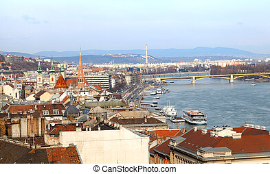 Budapest, capital city of Hungary - Beautiful view of...