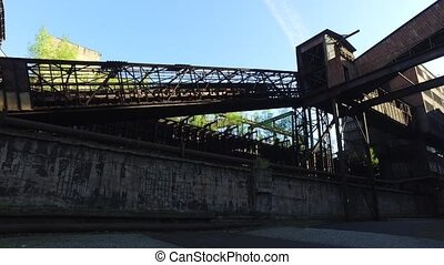 Coke Plant At Metallurgical Plant - Coke plant at old...