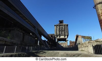 Old Abandoned Metallurgical Plant - Old abandoned...