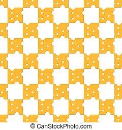 Cheese pattern seamless