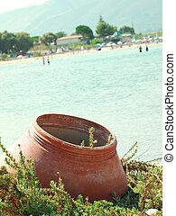 beach of Zante, Greece
