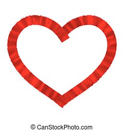 Heart a red tape EPS 10 vector file included