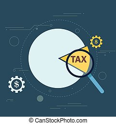 Tax cut pie graph conceptual design - Tax cut pie graph...