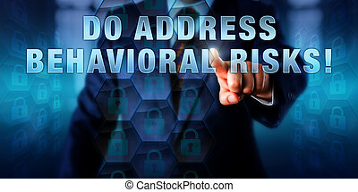 Manager Touching DO ADDRESS BEHAVIORAL RISKS - Male...