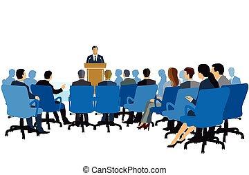 Vortrag-Beratung-Vorstellung.eps - Lecture, Consulting,...
