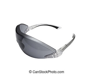 Dark toned protective glasses - Fashionable dark toned...