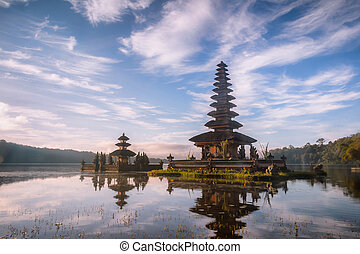a Temple at Bali Indonesia