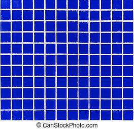 glass tiles dark blue