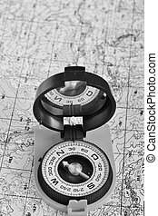 Tools for the journey - map and compass. - Tools for the...