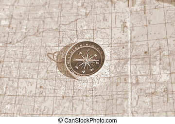 Tools for the journey - map and compass - Tools for the...