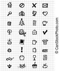 Icons collection for your design
