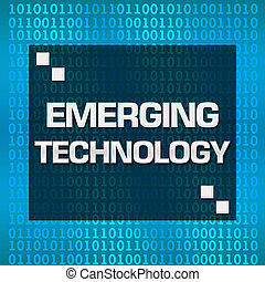 Emerging Technology Binary - Emerging technology text...