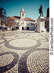 comum, corredor, (Camara, municipal, de, Aveiro), em,...