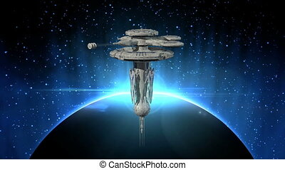 Space ship - Image of a space ship