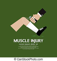 Muscle Injury With Spray Healing - Muscle Injury With Spray...