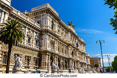 Palace of Justice in Rome - The Palace of Justice in Rome,...