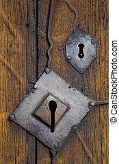 Torpo Stavkirke - doors detail, Torpo Stavkirke, Norway