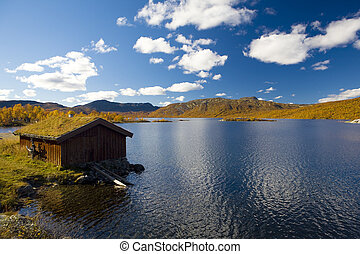 Norway  - landscape of Southern Vestlandet, Norway