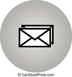 Email symbol letter icon - vector - Email symbol letter icon...