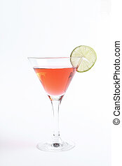 Cosmopolitan - Alcohol. Cosmopolitan on the table