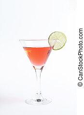 Cosmopolitan - Alcohol. Cosmopolitan on the table