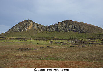 Ahu Tongariki, Easter Island - Ahu Tongariki Site of a large...