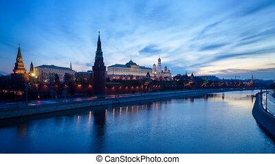 Moscow Kremlin dawn