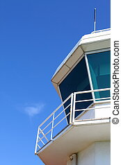 Aerodrome control tower - Part of aerodrome control tower...