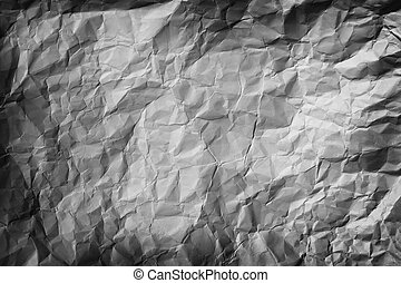 Crumpled Paper Background - Background photo picturing a...