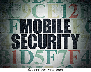 Safety concept: Mobile Security on Digital Data Paper...
