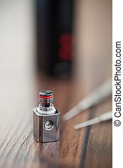 Upgrading e-cig vaporizer with kanthal coil - Upgrade parts...