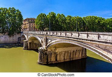 Umberto I bridge in Rome