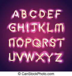 illumination text group