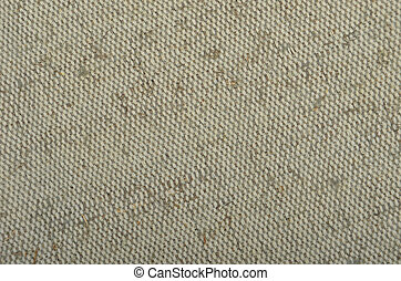 Canvas textile textured background - Close-up of canvas...