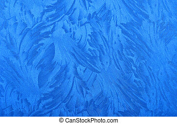 Metallic paper background - Glittery and textured blue...