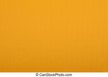 Crinkled cardboard background - Close up of orange crinkled...