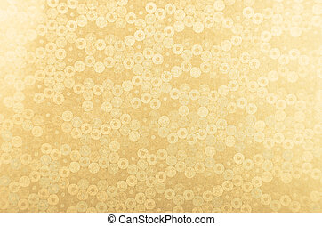 Metallic paper background - Glittery and textured golden...