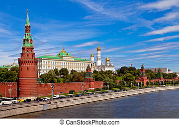 View on Kremlin in Moscow, Russia
