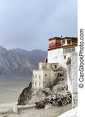 Basgo Monastery in Ladakh, India.This monastery has been...